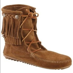 Minnetonka booties